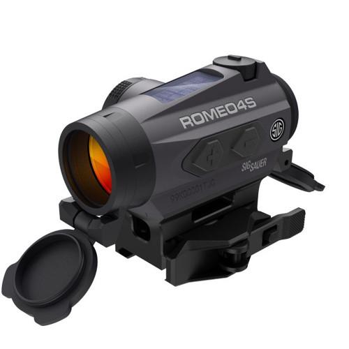 Sig Sauer Romeo4S Red Dot Sight, Ballistic Circle Plex, Solar, 0.5 MOA ADJ