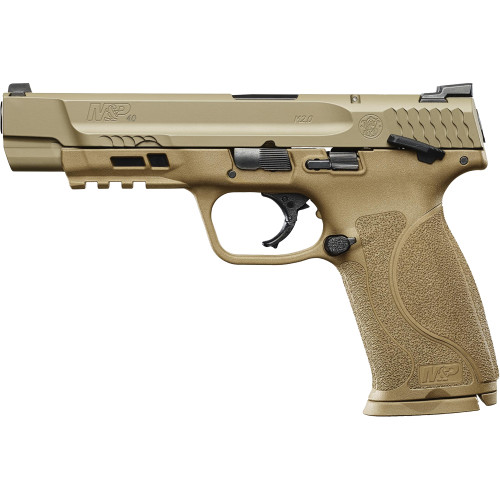Smith & Wesson M&P<sup>&reg;</sup>40 M2.0&trade; FDE with Thumb Safety