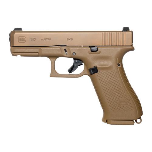 Glock 19X Gen5 9mm Handgun with Night Sights - PX1950702