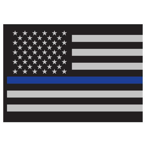 Rothco Thin Blue Line Flag Decal