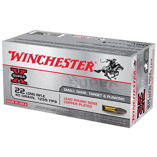 Winchester Super X 22LR 40GR 50 round box - X22LR