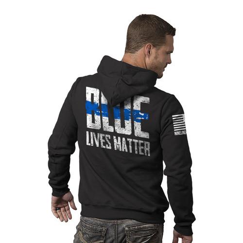 Nine Line Blue Lives Matter Hoodie - 05BLM2