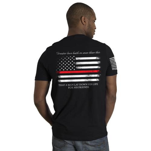 Nine Line Thin Red Line T-Shirt - 01TRL