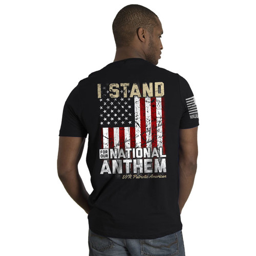 Nine Line I Stand for the Anthem T-Shirt - 01STANDV2