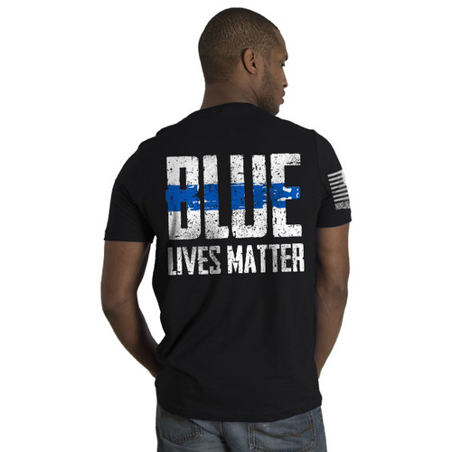 Nine Line Blue Lives Matter T-Shirt - 01BLM2