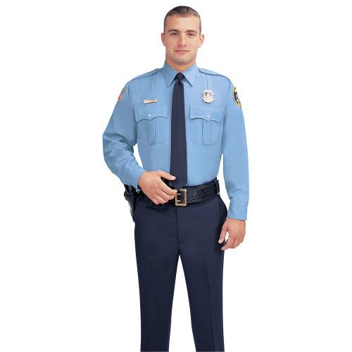 Fechheimer Men's Long Sleeve Command Poly Uniform Shirt