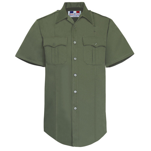 Fechheimer Short Sleeve Poly/Rayon Tropical Shirt