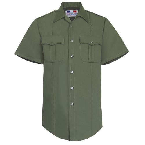 Fechheimer Short Sleeve Poly/Rayon Tropical Shirt