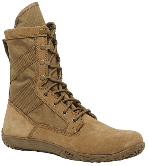 Tactical Research Mini-Mil Minimalist Coyote Boot - TR105