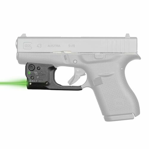 Viridian Reactor R5 Gen 2 Green Laser Sight for Glock 43 - 920-0036
