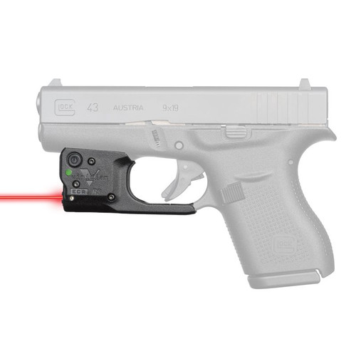 Viridian Reactor R5 Gen 2 Red Laser Sight for Glock 43 - 920-0037