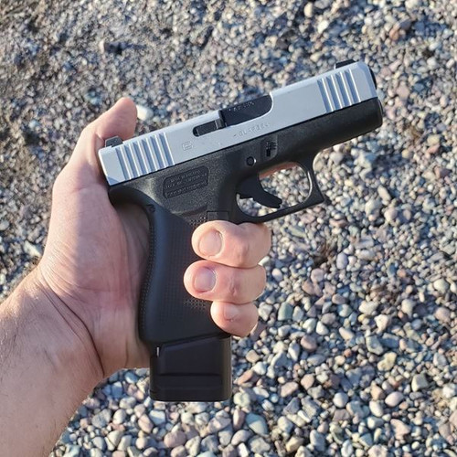 Shield Arms +4 mag extension for the Glock 43X and Glock 48 - G43X-ME-4