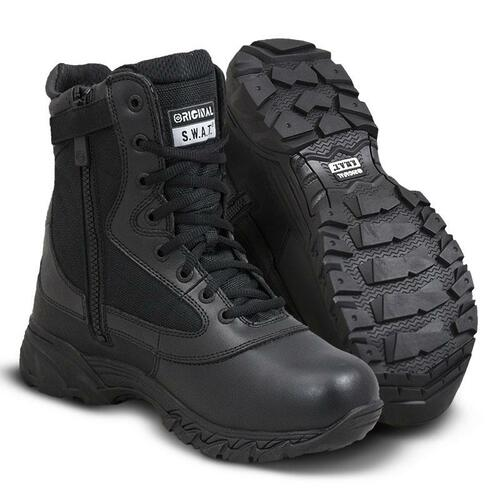 "Original Swat Chase 9"" Waterproof Side-Zip Men's Black Boot - 139601"