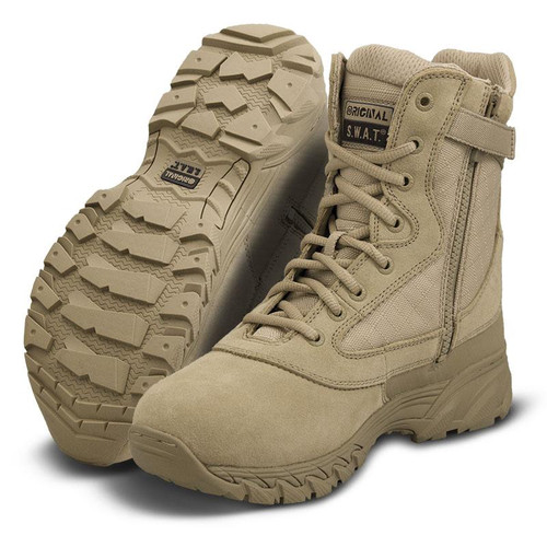 "Original Swat Chase 9"" Side-Zip Men's Tan Boot - 131202"
