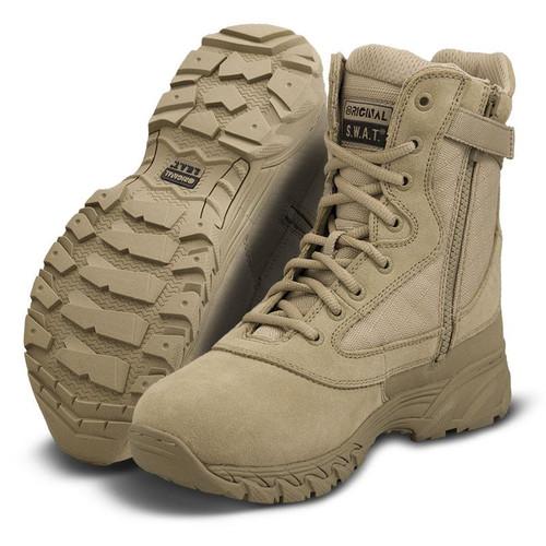"Original Swat Chase 9"" Side-Zip Men's Tan Boot - 131202"