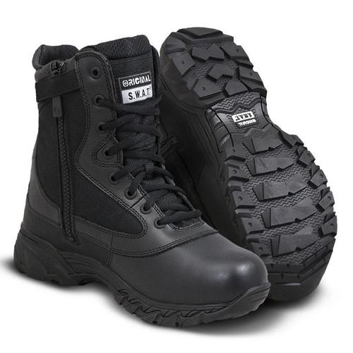 "Original Swat Chase 9"" Side-Zip Men's Black Boot - 131201"