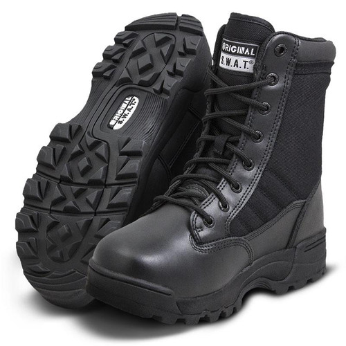 "Original Swat Classic 9"" Women's Black Boot - 115011"
