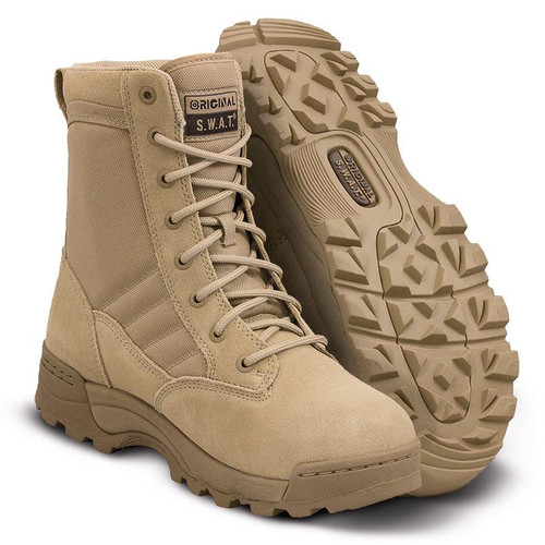 "Original Swat Classic 9"" Men's Tan Boot - 115002"