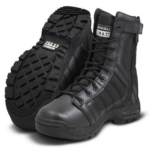 """Original Swat Metro Air 9"""" Side-Zip Men's Black Boot - 123201"""