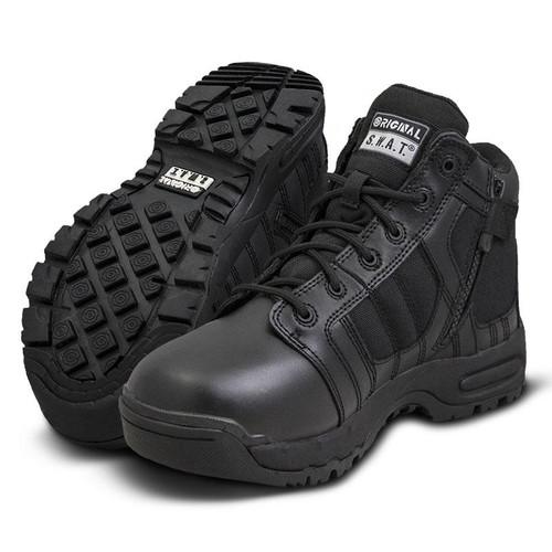 """Original Swat Metro Air 5"""" Side-Zip Men's Black Boot - 123101"""