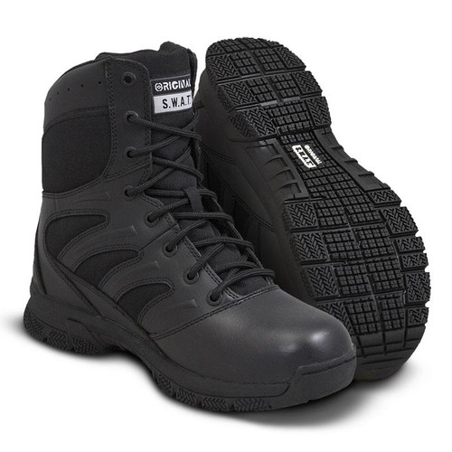 "Original Swat Force 8"" Men's Black Boot - 155001"