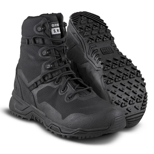 "Original Swat Alpha Fury 8"" Men's Black Boot - 177001"