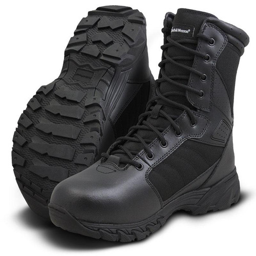 """Smith & Wesson Breach 2.0 8"""" Men's Black Boot - 810101"""