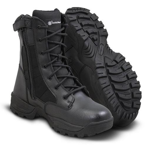 "Smith & Wesson Breach 2.0 Waterproof 8"" Side-Zip Men's Black Boot - 810401"