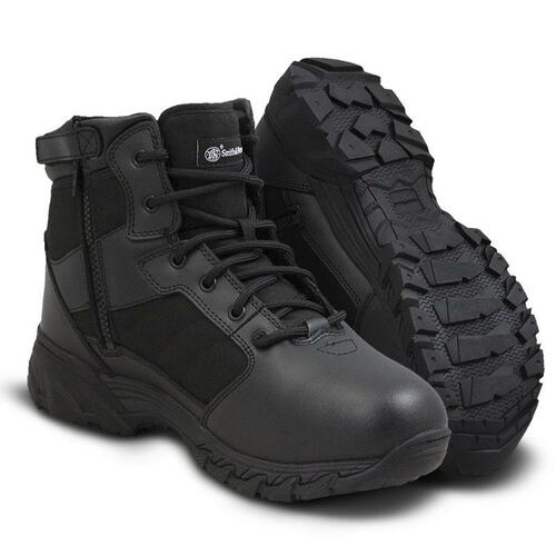 "Smith & Wesson Breach 2.0 6"" Side-Zip Men's Black Boot - 810301"