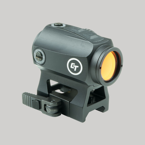 Crimson Trace CTS-1000 Compact Electronic Tactical Red Dot Sight for Rifles 2.0 MOA