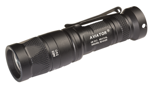 Surefire Aviator Dial Output Multi-Spectrum LED Flashlight - Aviator