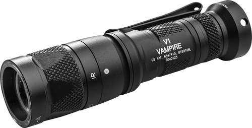 SureFire V1-C Vampire IR / Red Dual-Output LED Flashlight - V1-C-BK