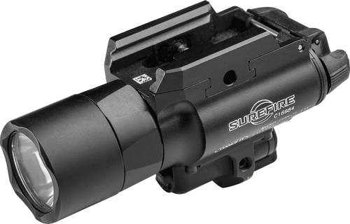 SureFire X400 Ultra LED Weapon Light with White Light and Red Laser - X400U-A-RD
