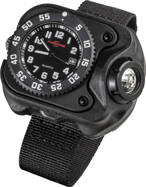 Surefire Variable-Output Rechargeable LED Wrist Light - 2211-B-BK-SF
