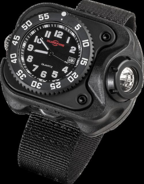 Surefire Variable-Output Rechargeable LED Wrist Light - 2211-B-BK-SF