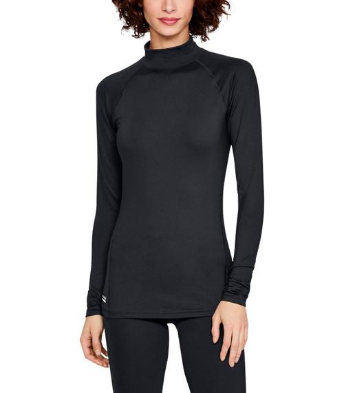 Under Armour 1316921 Women's UA Tactical Reactor Mock Base Long Sleeve Shirt