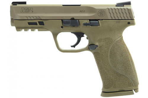 Smith & Wesson 11767 M&P9 M2.0 9mm (FDE) Centerfire Handgun with TruGlo TFX Sights
