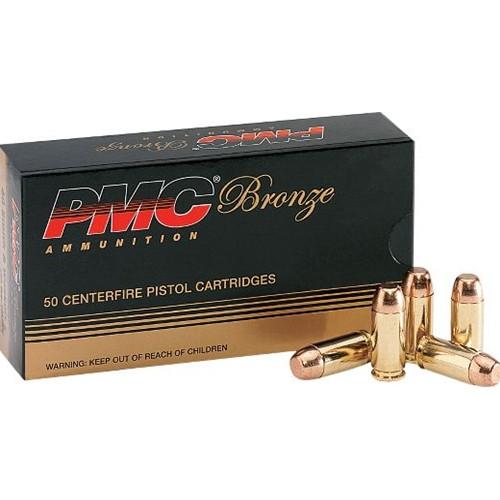 PMC 40D Bronze 40 S&W 165 Grain Full Metal Jacket Ammo