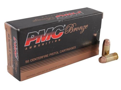 PMC 40E .40 S&W 180 GRAIN FMJ Ammo