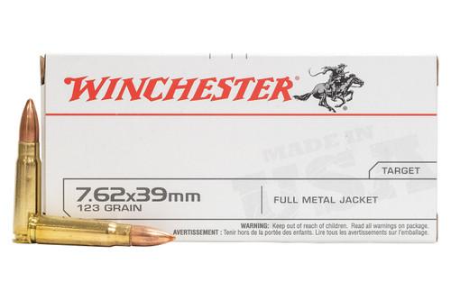 Winchester Q3174 7.62x39mm 123 Grain FMJ Ammo