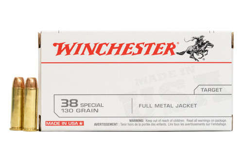 Winchester Q4171 38 Special 130 gr FMJ Ammo