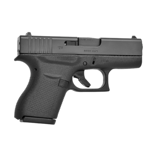 Glock UI4350202 43 USA 9mm 6rd 3.39in Black Handgun