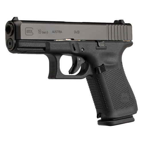 Glock PA195S202 19 Gen 5 Pistol 9mm 4in 15rd Handgun
