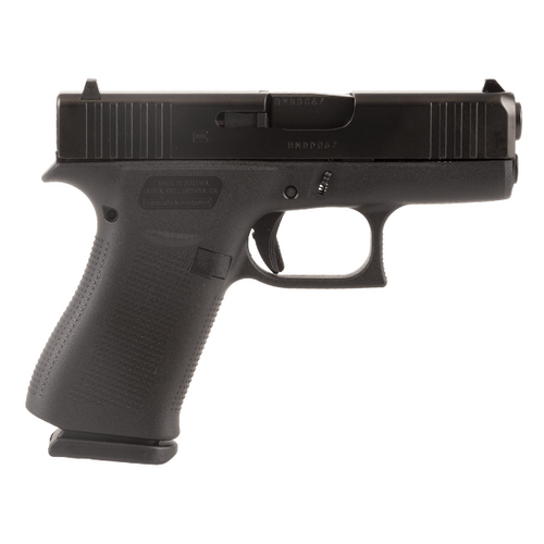 """Glock PX4350202 G43X 9mm Handgun with 3.41"""" Barrel and Fixed Sights"""