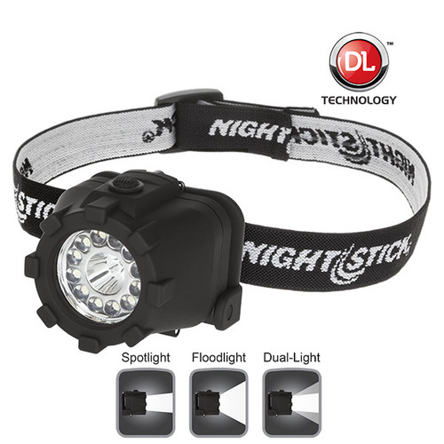 Nightstick NSP-4604B Dual-Light Headlamp