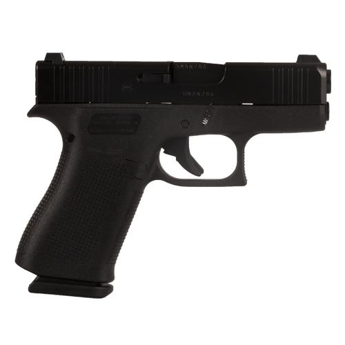 Glock PX4350702 43X Black 9MM Blue Label Handgun with Glock Night Sights