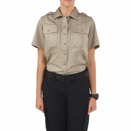 5.11 Tactical 61159 Women's Twill PDU Class B Short Sleeve Shirt