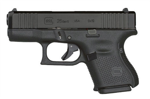 Glock UA265S302AB 26 Gen5 9mm Handgun with Ameriglo Night Sights