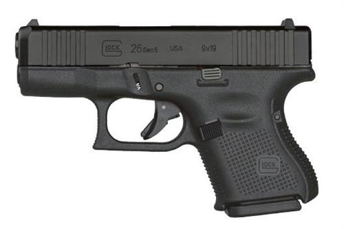 Glock UA265S302AB 26 Gen5 9mm Handgun with Ameriglo Night Sights