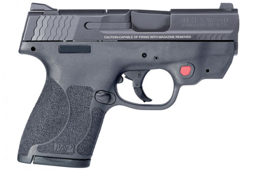 Smith & Wesson 11671 M&P9 Shield M2.0 9mm Handgun with Integrated Crimson Trace Red Laser